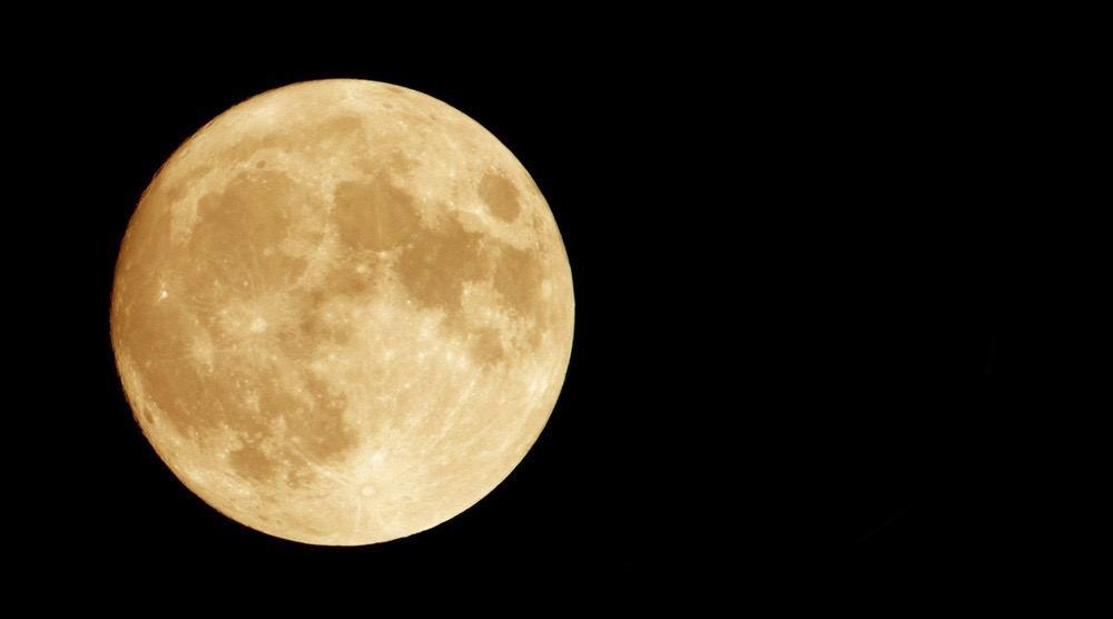 قرص کامل ماه برداشت