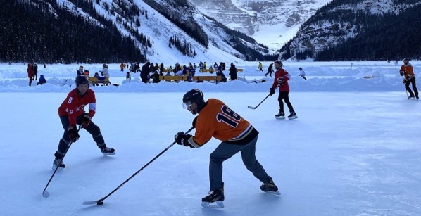Lake louise pond hockey11 1024x525